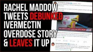 Rachel Maddow Tweets False Story That's PROVEN Wrong, LEAVES Her Tweet Up