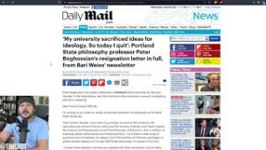 Professor RESIGNS Citing University Indoctrinating Corrupt Wokeism, Peter Boghossian Says ENOUGH