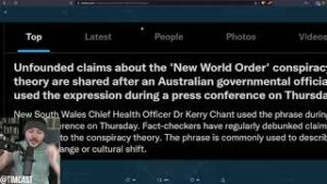 """Health Officer Says We Are In """"New World Order"""" Sparking Viral Trend And Bizarre Fact Checking"""