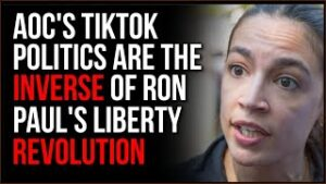 AOC's Influencer Fundraising Method Is The INVERSE Of The Ron Paul Revolution