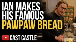 Ian Makes His Famous Pawpaw Bread