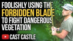 Foolishly Using The FORBIDDEN BLADE To Fight Dangerous Vegetation