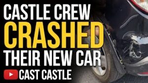 Castle Crew Crashed Their New Car