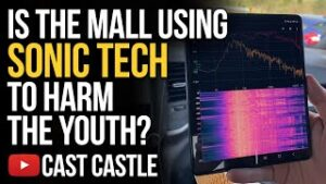 Is The Mall Using Sonic Technology To Harm The Youth?