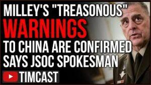 "Spokesman CONFIRMS Gen. Milley ""Treason"" Calls Happened, Report Confirms Pelosi Coup Against Trump"