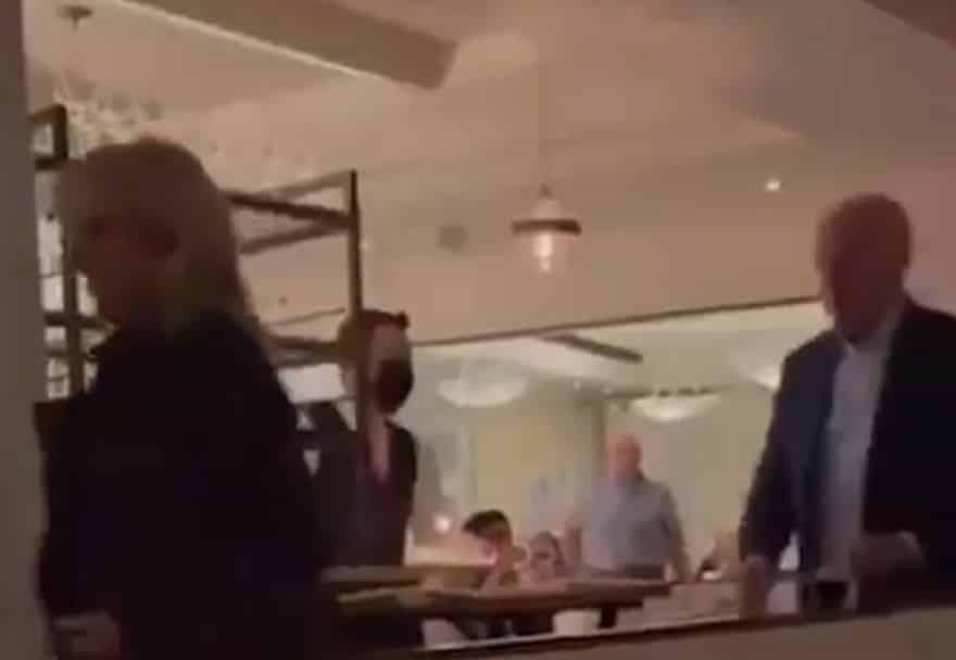 Joe and Jill Biden Caught Violating DC Mask Mandate at Upscale Restaurant