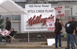 Production of Kellogg's Cereal Halted Amid Strikes at All of Their US Plants