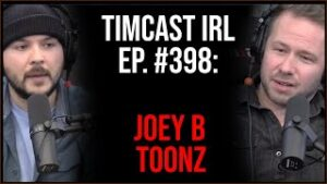 Timcast IRL - Trucks DUMP Shipping Containers In The Street Amid Supply Chain Crisis w/JoeyBToonz