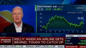 WATCH: Southwest Airlines CEO Says He's 'Never Been in Favor' of Businesses Mandating Vaccines